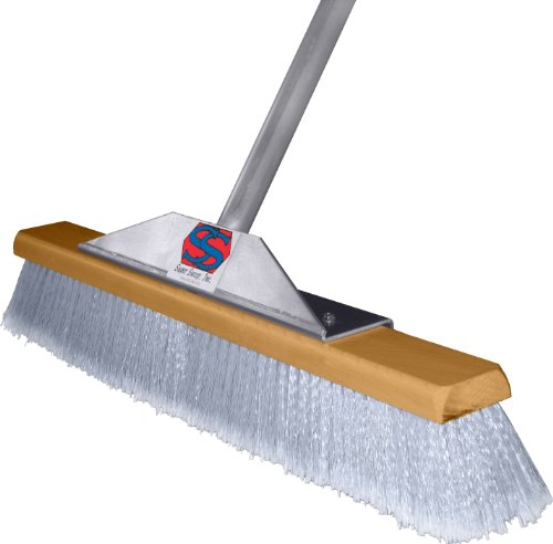 Super Sweep 24-Inch Gray Flagged Broom by Super Sweep Inc. (Image #1)