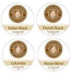 BARISTA PRIMA - THE EUROPEAN COFFEE SAMPLER - 96 K CUPS