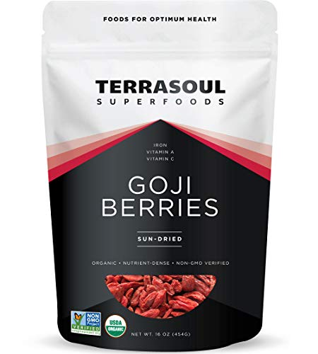 Terrasoul Superfoods Organic Goji Berries