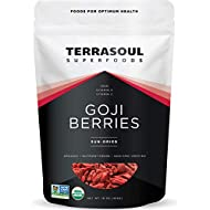 Terrasoul Superfoods Organic Goji Berries, 16 Oz - Large Size | Chewy Texture | Premium Quality | Lab-Tested