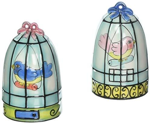 Fancy Bird (Appletree Design Flights of Fancy Birdcage Salt and Pepper Set, 3-1/8-Inch)
