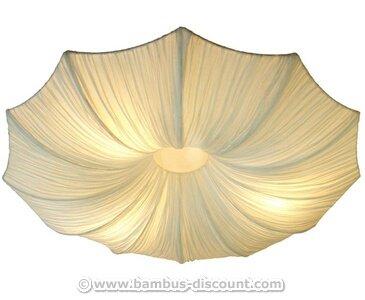 Asiatische Dekorationsartikel deckenle mit seidenstoff schirm simona durch 80cm deko