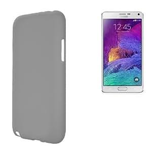 Funda TPU X-Line S. Galaxy Note 4 Gris