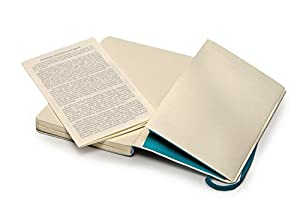 Moleskine Classic Colored Notebook, Pocket, Dotted, Underwater Blue, Soft Cover (3.5 x 5.5)