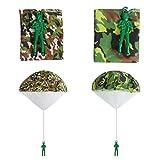 Ledorr 6 Pack Camo Parachute Toy, Tangle Free