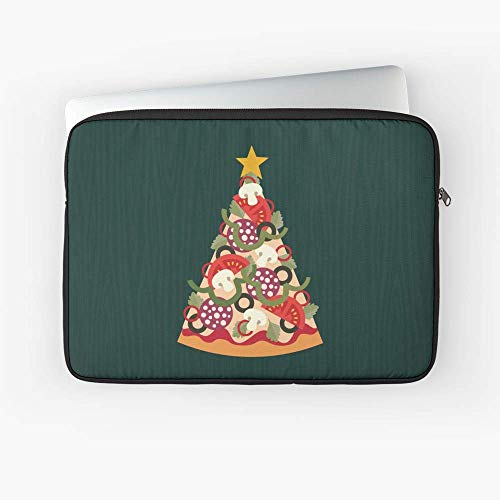 Pizza On Earth Pepperoni Laptop Sleeve.