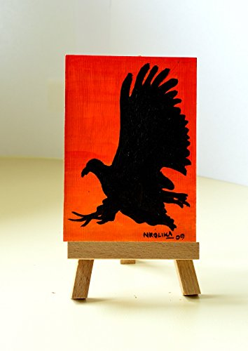 ACEO/ Artist Trading Cards / Miniature Art. Original Acrylic