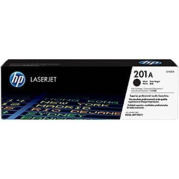 HP 201A (CF400A) Toner Cartridge, Black for HP Color LaserJet Pro M252dw, M277, M277c6, M277dw