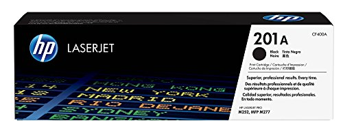 Hewlett Packard Color Laserjet - HP 201A (CF400A) Toner Cartridge, Black for HP Color Laserjet Pro M252dw M277 MFP M277c6 M277dw MFP 277dw