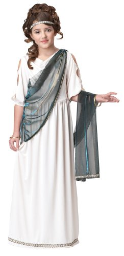 [Roman Princess Costume - Large] (Athena Greek Goddess Costume Child)