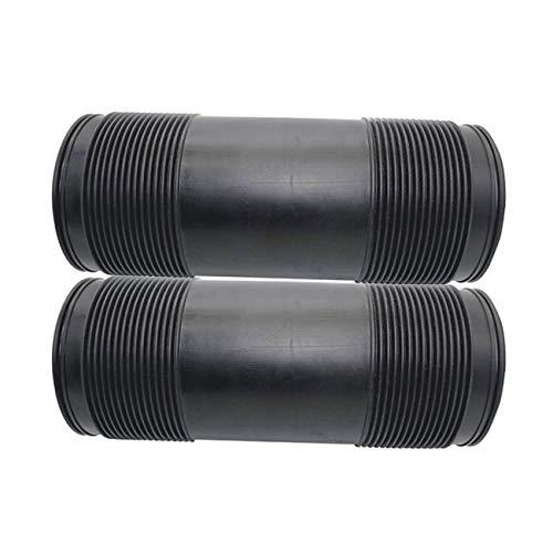 AIRSUSFAT Pair Air Suspension Hydraulic Shock Absorber Rear Dust Cover Boots for Mercedes-Benz R230 SL500 SL600 SL350 ABC Strut Repair ()