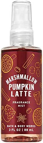 Bath and Body Works MARSHMALLOW PUMPKIN LATTE Travel Size Fine Fragrance Mist 3 Fluid Ounce