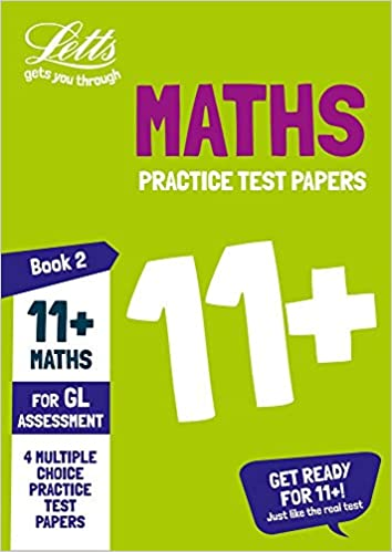 11+ Maths Practice Papers Book 2: For the 2021 GL Assessment Tests (Collins 11+ Practice)