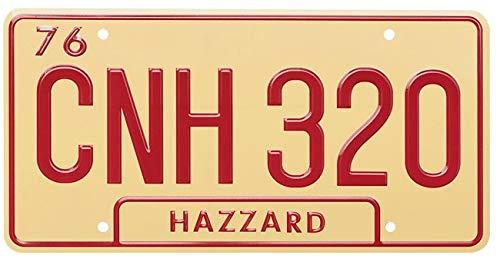 ASVP Shop Hertogen van Hazzard – CNH 320-1969 Oplader – Algemeen Lee – Metalen gestempelde plaat – Replica Prop…