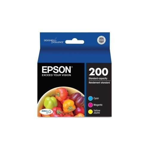 Epson Multi-Pack Color DURABrite Ultra Ink Cartridges - Cyan, Magenta, Yellow - Inkjet - 165 Page Cyan, 165 Page Magenta, 165 Page Yellow - 3 T200520