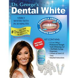 "Price comparison product image Dr. George's Dental White ""Whitening for Two"""
