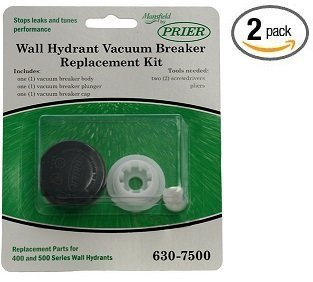 Prier 630-7500 Vacuum Breaker Service Parts Kit - 2 Pack by Prier
