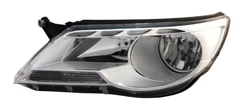 wagen Tiguan Passenger Side Headlight Assembly ()
