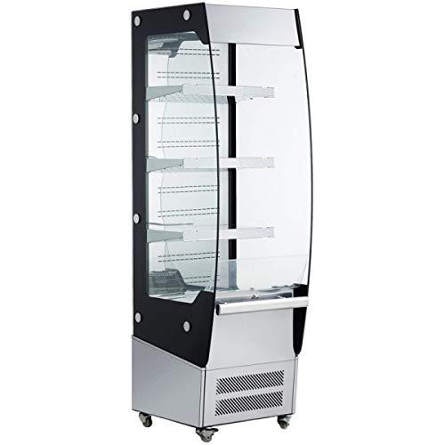 Adcraft BDVACM-220 Refrigerated Vertical Air Curtain Merchandiser, 220-Liter