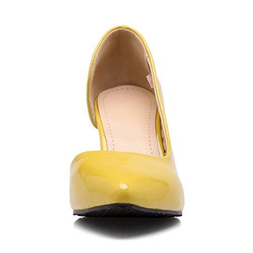 Balamasa Sandales Compensées Sandales Compensées Jaune Balamasa Femme Femme Balamasa Jaune Sandales rHrOTq5Wn