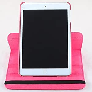 360 grados de rotaci¨®n de la PU Leather Case cuerpo completo con soporte para el iPad Mini / Mini 2 (colores surtidos) , Azul