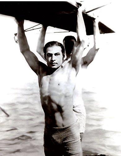Rudolph Valentino Shirtless 8x10 Photo #R8451