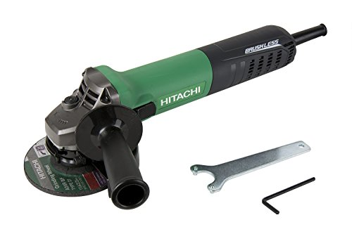Hitachi G12VE 4-1/2-Inch 12-Amp AC Brushless Variable Speed Angle Grinder