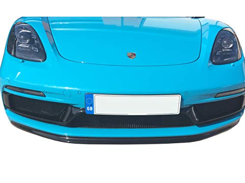 - Zunsport Compatible with Porsche 718 Boxster/Cayman GTS - Front Grille Set - Black Finish (2018 -)