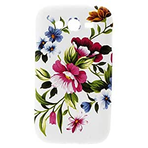 Gt Big Flower Pattern Hard Case for Samsung Galaxy Grand DUOS I9082