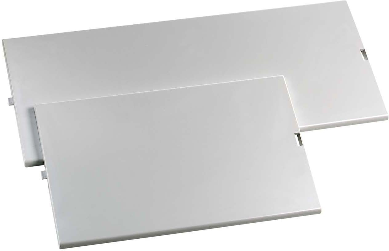 Schneider Electric 13944 1R 12 MOD Full Front Plate, White