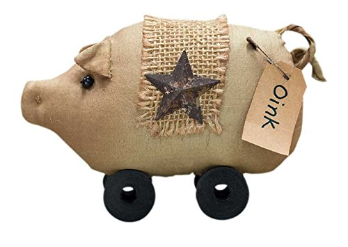 CWI Gifts Spool Pig Stuffed Doll by CWI Gifts