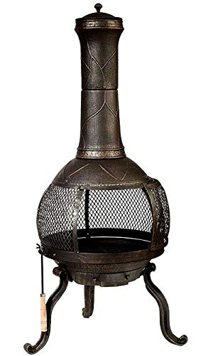 Deckmate Sonora  Outdoor Chimenea Fireplace  Model 30199 by Kay Home Products