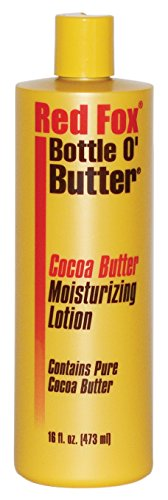 Red Fox Bottle O Butter Cocoa Butter Lotion 16oz (3 Pack) ()