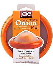 MSC International Joie Fresh Stretch Pod for Onions, LFGB Approved, One Size, Orange