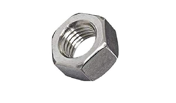 Pack of 50 Grade 2 5//8-11 Thread Size Pack of 50 Fastcom Supply 5//8-11 Thread Size Small Parts FSC58HNSZ Low-Strength Steel Hex Nut Zinc Plated