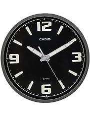 ساعة حائط انالوج بعقارب من كاسيو IQ-78-8DF - اسود