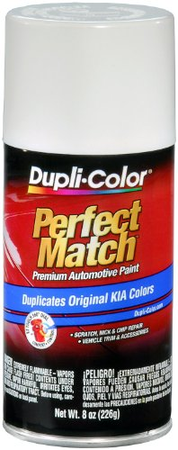 Dupli-Color EBKA00017 Clear White Kia Perfect Match Automotive Paint - 8 oz. Aerosol -
