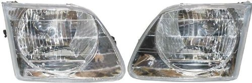 Ford F150 Replacement Headlight Assembly - 1-Pair Auto Parts Avenue