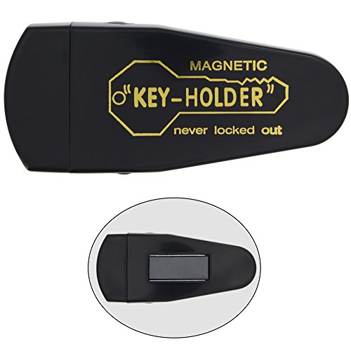 RamPro Large Magnetic Hide-a-Key Holder for Over-Sized Keys - Extra-Strong Magnet by RamPro