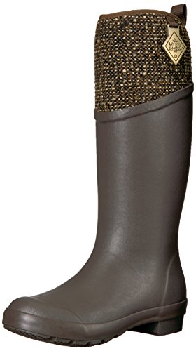 Muck Boot Women's Tremont Supreme Work Boot, Bark/Antique Brass, 7 M US by Muck Boot
