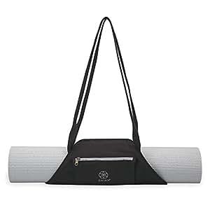 Gaiam On-The-Go Yoga Mat Carrier, 05-62018, Granite Storm