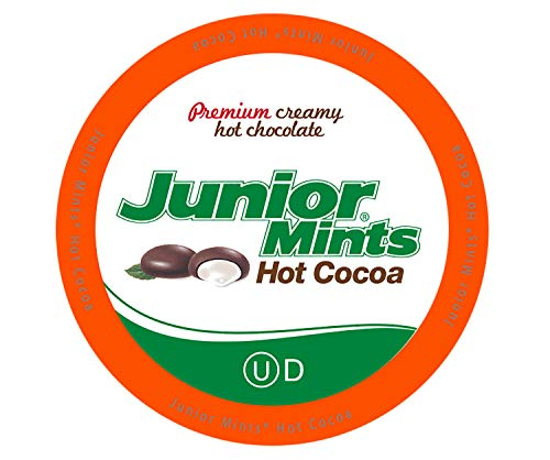 Junior Mints Chocolate Mint Hot Cocoa Pods for Keurig K Cup Brewers, 40Count ()