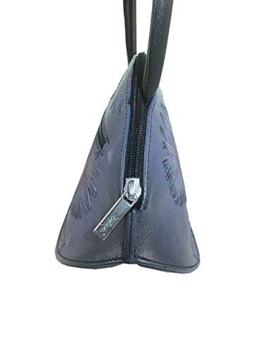 déqua Tasche violett-schwarz 9Qk0Q
