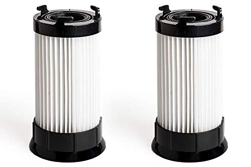 Green Label 2 Pack Replacement HEPA Filter DCF4, DCF18 for Eureka Upright Vacuum Cleaners (Compares to 63073C, 62132, 63073, 3690, 18505). Fits: 4700, 5500 Series