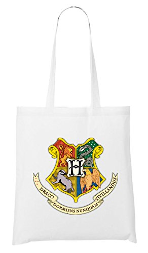 Hogwarts Shield Bag White Certified Freak