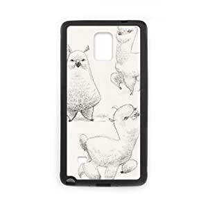 Lycase(TM) Alpaca Custom Cover Case, Alpaca Samsung Galaxy Note 4 Case