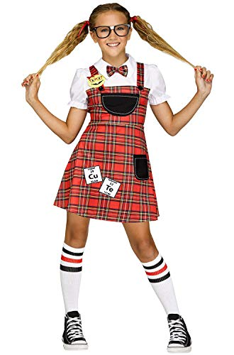 Fun World Head of The Class Nerd Costume (12-14) -