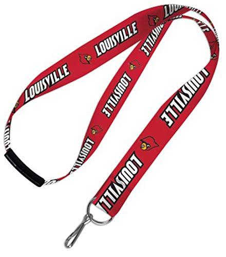 WinCraft NCAA University Louisville Cardinals Lanyard Safety Breakaway Clasp ()