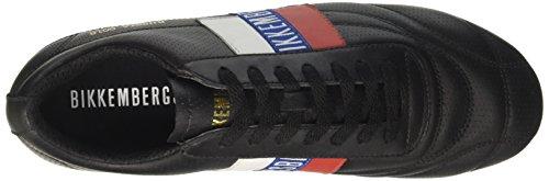 Homme Soccer Black Noir Baskets Bikkembergs 2102 999 tPwf1