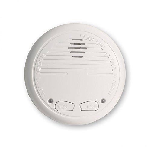Nemaxx WL2 - Detectores de humo inalámbricos, 8 unidades, cumplen con normativa EN 14604, color blanco: Amazon.es: Bricolaje y herramientas
